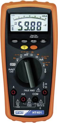 HT Instruments HT401 Multimeter Digitaal Kalibratie: Zonder certificaat CAT III 1000 V, CAT IV 600 V Weergave (counts):