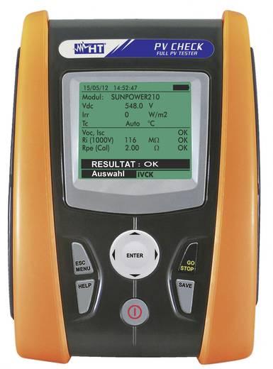 HT Instruments PV-CHECK Installatietester Kalibratie conform ISO