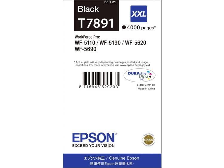 Epson Inkt T7891 79XXL Origineel Zwart C13T789140