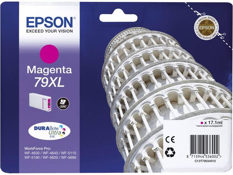 Epson Inkt T7903, 79XL Origineel Magenta C13T79034010