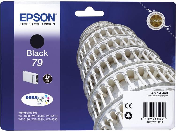 Epson Inkt T7911, 79 Origineel Zwart C13T79114010