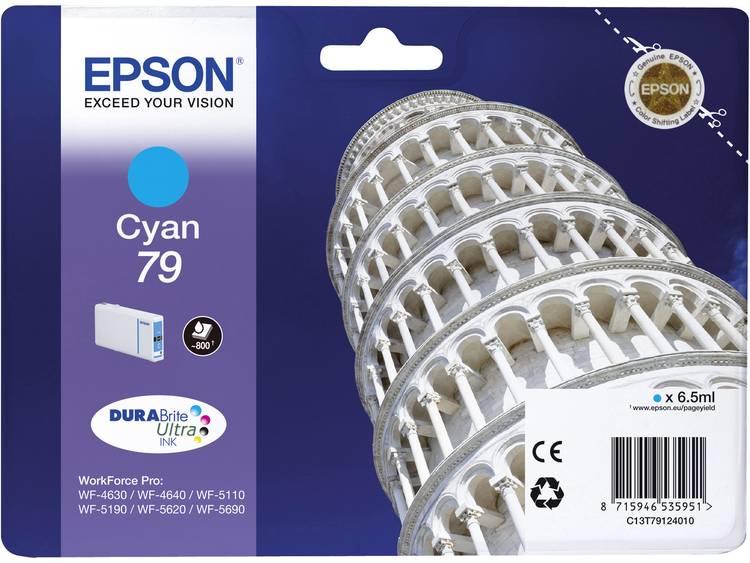 Epson Inkt T7912, 79 Origineel Cyaan C13T79124010