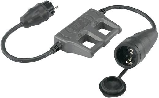 Meetadapter VOLTCRAFT CLA-1L 16 [ Randaarde rubberen stekker - Randaarde rubberen koppeling]