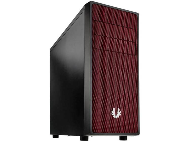 Midi-tower USB-behuizing, Gaming-behuizing Bitfenix Neos Zwart, Rood 1 voorgeïnstalleerde ventilator, Stoffilter