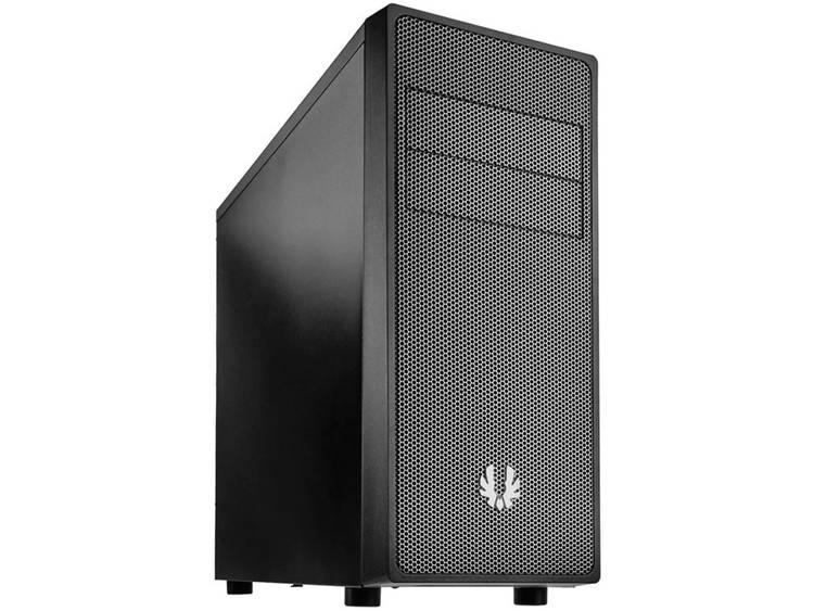 Midi-tower USB-behuizing, Gaming-behuizing Bitfenix Neos Zwart, Zilver 1 voorgeïnstalleerde ventilator, Stoffilter