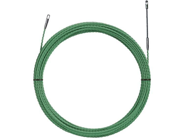 Polyester intrekband groen, Ã 4,5 mm 52055294 Klauke 1 stuks