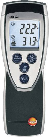 Temperatuurmeter testo Set testo 922 -50 tot +1000 °C Sensortype K Kalibratie conform: Fabrieksstandaard (zonder certif