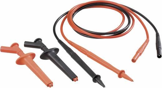 MultiContact 9410494500 Veiligheidsmeetsnoerenset [ Banaanstekker 4 mm - Banaanstekker 4 mm] 1 m Zwart, Rood