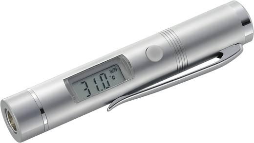 Infrarood-thermometer Basetech MINI 1 Optiek (thermometer) 1:1 -33 tot +220 °C Kalibratie mogelijk: Zonder certificaat
