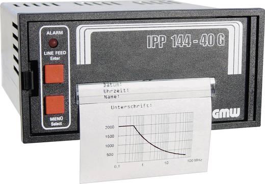 GMW IPP144-40GS, 19-36VDC Thermoprinter met grafische mogelijkheden IPP1444-40G Inbouwmaten 138 x 68 mm