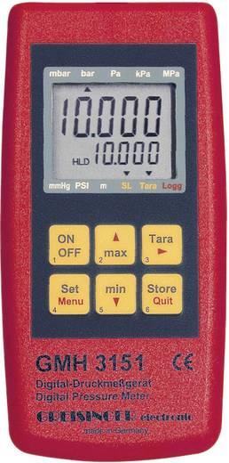 Greisinger GMH 3151 Drukmeter Luchtdruk 0.0025 - 0.6 bar