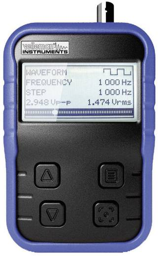 Velleman HPG1 Functiegenerator in zakformaat 1 MHz