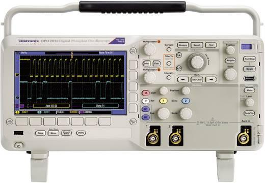 Tektronix DPO2012B Digitale oscilloscoop 100 MHz 2-kanaals 1 GSa/s 1 Mpts 8 Bit Kalibratie ISO Digitaal geheugen (DSO)