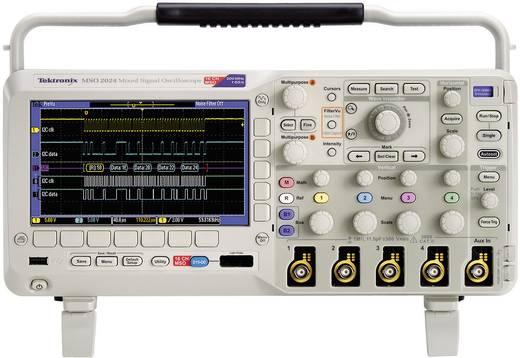Tektronix MSO2024B Digitale oscilloscoop 200 MHz 20-kanaals 1 GSa/s 1 Mpts 8 Bit Kalibratie ISO Digitaal geheugen (DSO), Mixed-signal (MSO)