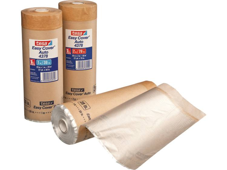 tesa Easy Cover 4378 Auto (l x b) 20 m x 1 m Bruin Papier 4378-3-1 TESA Inhoud: 1 rollen