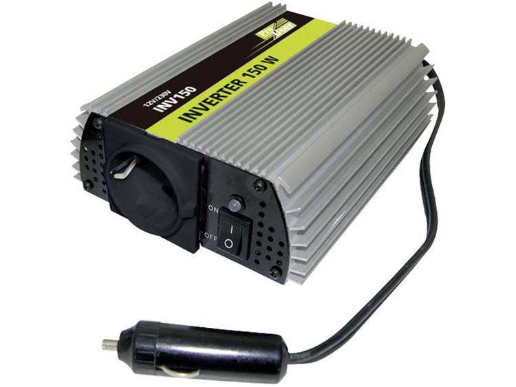 Omvormer ProUser Omvormer 150W 12 naar 230V 150 W 12 V-DC Sigarettenaanstekerstekker
