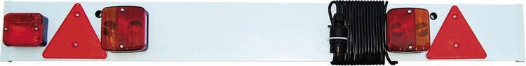 Image of Gloeilamp Verlichtingsset Remlicht, Knipperlicht, Achterlicht, Reflector, Mistachterlicht, Kentekenverlichting achter 12 V LAS Incl. verlichtingsbalk