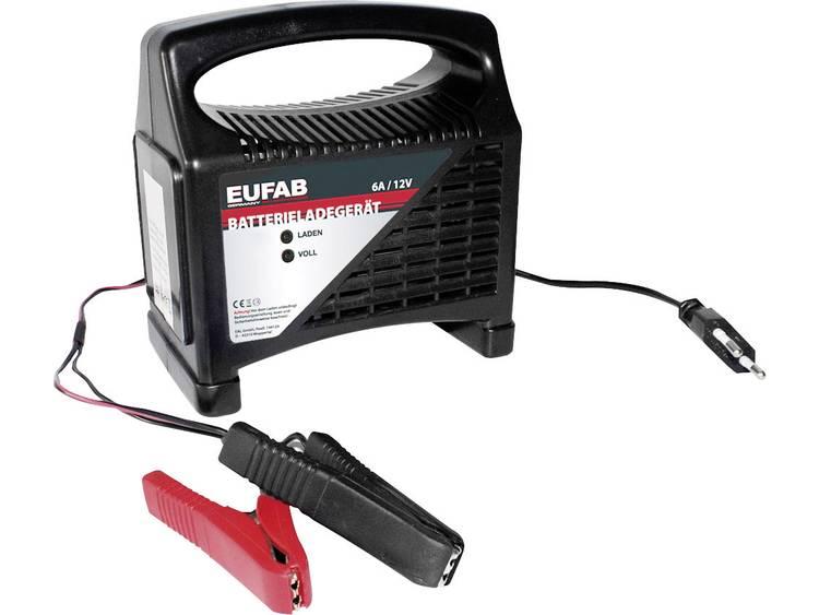 Eufab Automatische acculader 12 V