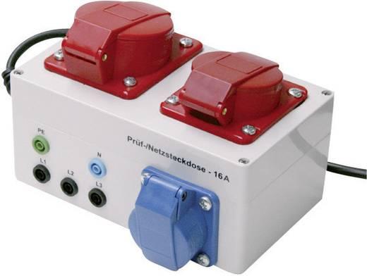 Metrel A 1207 20991243 Draaistroom-adapter A 1207 Geschikt voor Alpha GT, Multiservicer, Multiservicer XA
