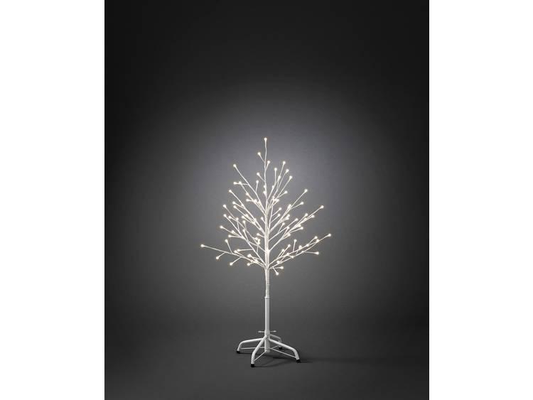 Witte LED-lichtjesboom voor buiten 100 cm, 96-l.