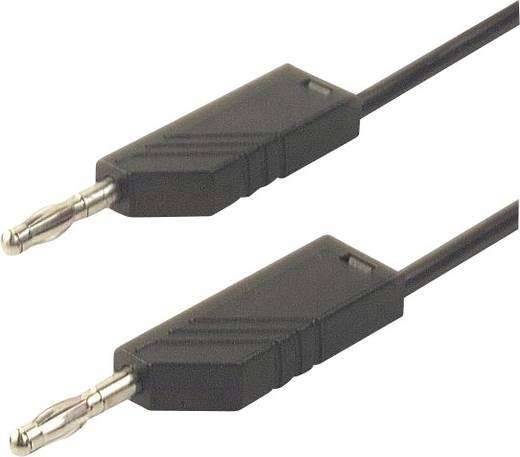 SKS Hirschmann CO MLN 100/2,5 Meetsnoer [ Banaanstekker 4 mm - Banaanstekker 4 mm] 1 m Zwart