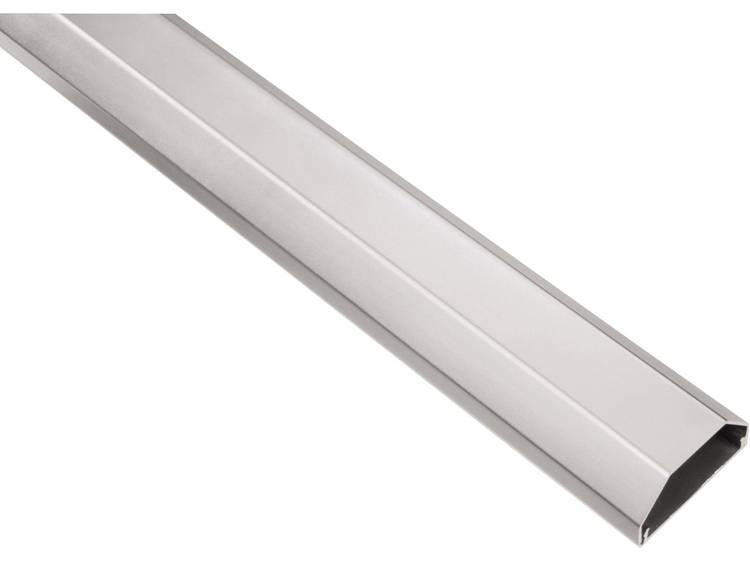 Hama Kabelgoot Aluminium Zilver star l x b x h 1100 x 50 x 26 mm 1 stuks 00020