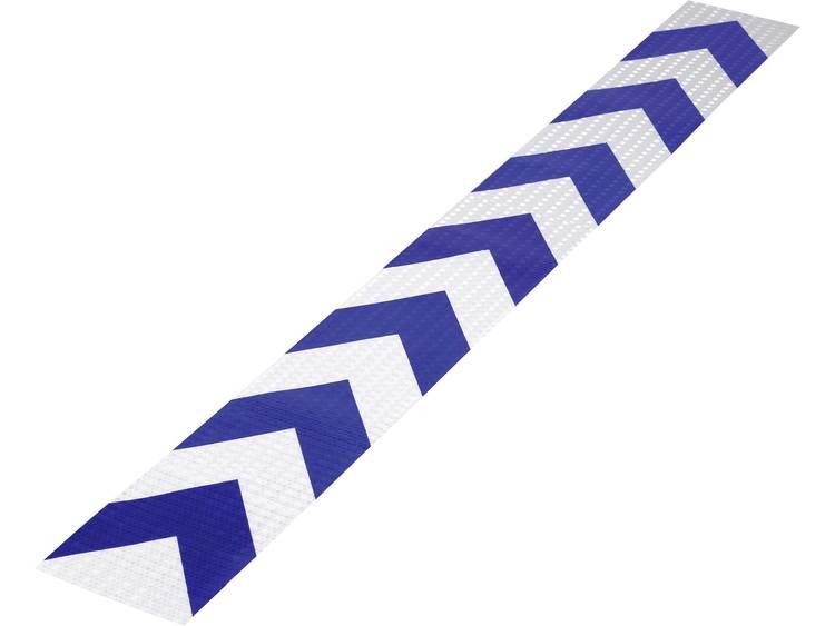 (l x b) 1000 mm x 115 mm Blauw, Rood Polyethyleen folie RTS115-1000-BL Conrad Inhoud: 1 stuks