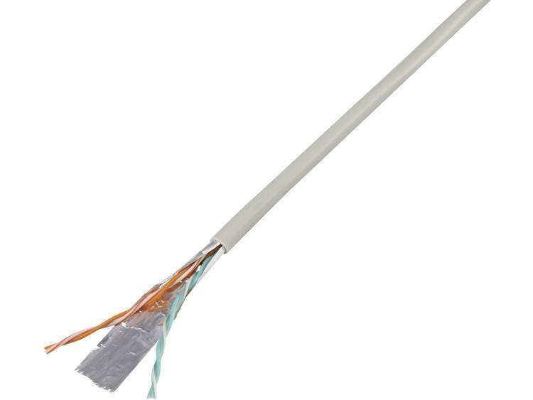TRU COMPONENTS 1568141 Telefoonkabel J-Y(ST)Y 2 x 2 x 0.60 mm Grijs 25 m