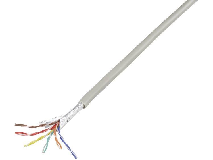 Conrad Components 1226973 Telefoonkabel J-Y(ST)Y 6 x 2 x 0.60 mm Grijs 25 m