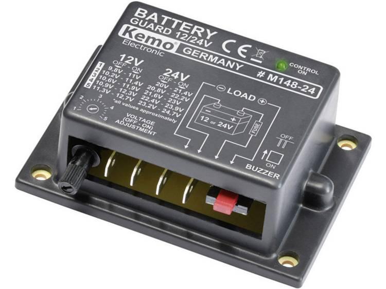 Accubewaker Ontlaadbescherming 12 V, 24 V Kemo M148-24