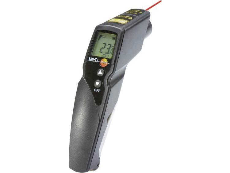 testo 830-T1 Infrarood-thermometer Optiek (thermometer) 10:1 -30 tot 400 °C