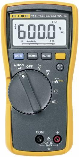 Fluke 114 Multimeter Digitaal Kalibratie: Zonder certificaat CAT III 600 V Weergave (counts): 6000