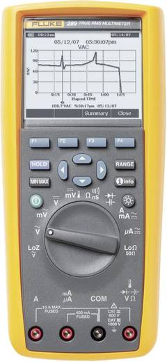Multimeter Fluke 289/EUR CAT III 1000 V, CAT IV 600 V Fabrieksstandaard (zonder certificaat)