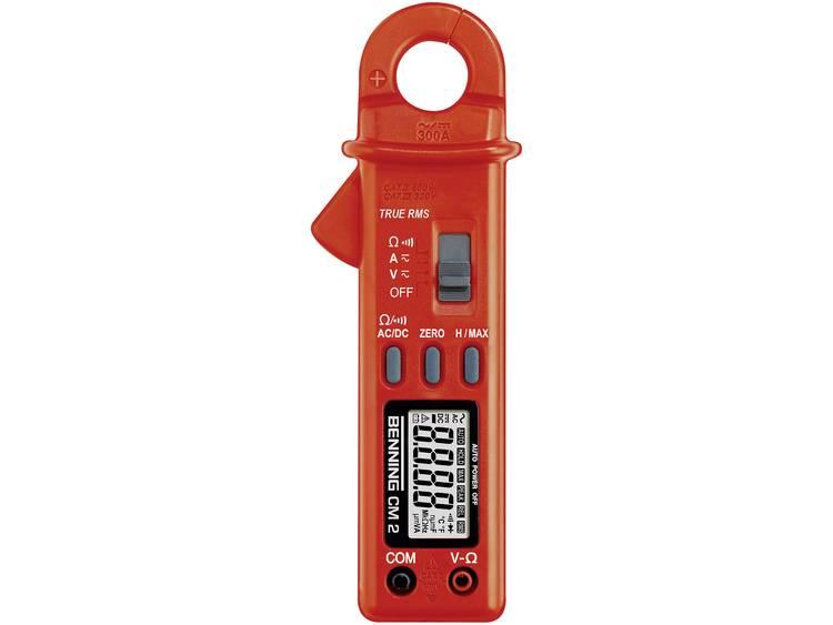 Benning CM 2 Stroomtang Multimeter Kalibratie Fabrieksstandaard zonder certif