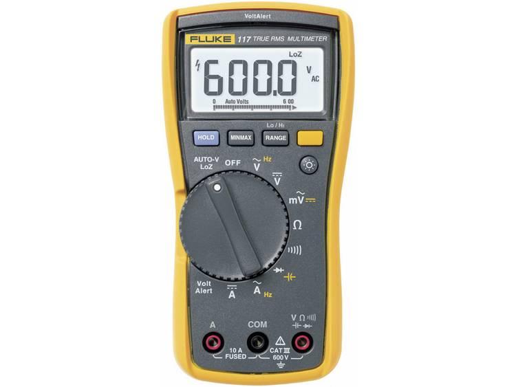 Fluke Digitale multimeter FLUKE 117 RMS 6000 cijfers 600 VAC 600 VDC 10 ADC (FLUKE 117)