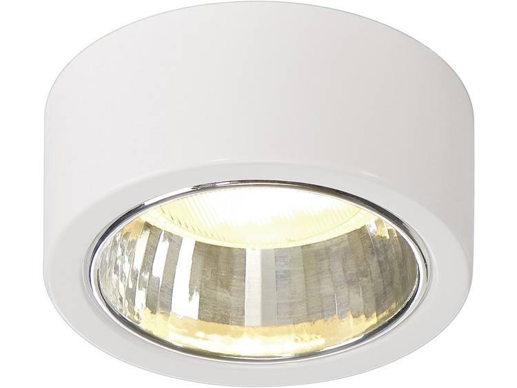 Ronde plafondspot CL101 1 lamp, wit