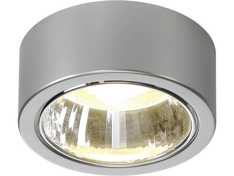 Ronde plafondspot CL101 1 lamp, zilver