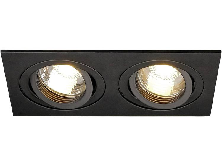 SLV Plafondinbouwlamp New Tria II Zwart 113492
