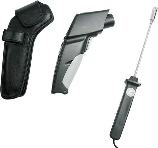 testo 830 T2 Set Infrarood-thermometer Optiek (thermometer) 12:1 -30 tot +400 °C Contactmeting