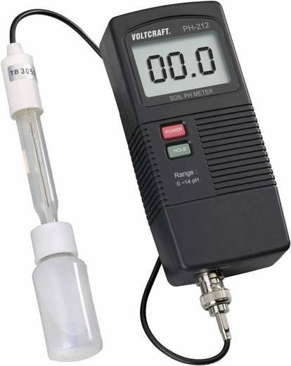 VOLTCRAFT PH-212 Grond pH-meter 0 à 13 pH