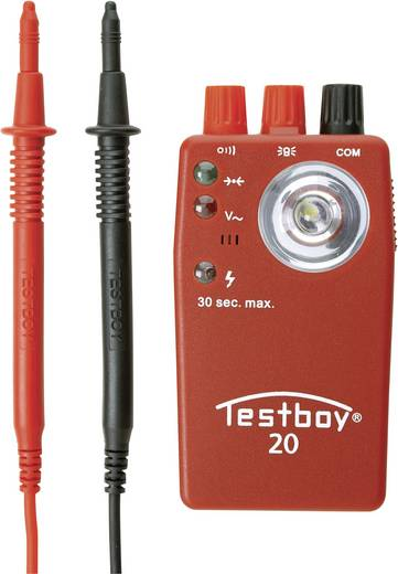 Testboy TESTBOY 20 Plus Multitester CAT III 400 V