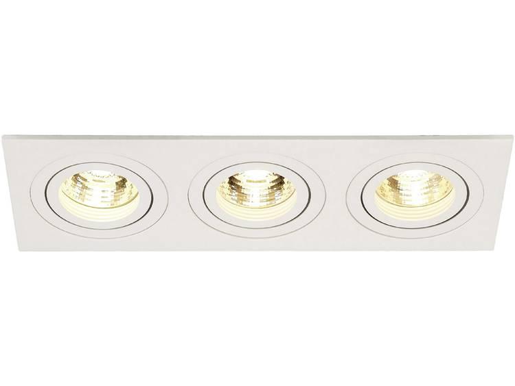 SLV Plafondinbouwlamp New Tria III Wit 113513