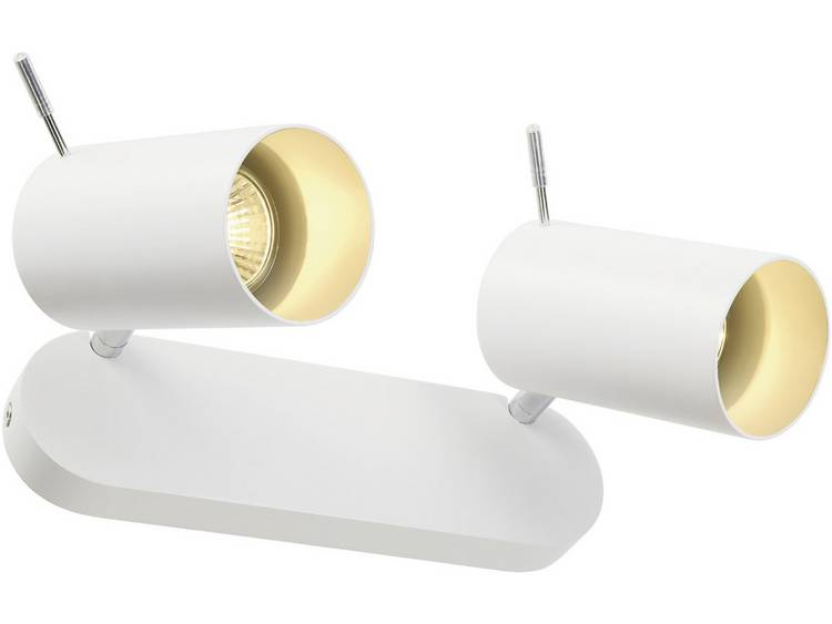 Plafondspot Halogeen, LED GU10 150 W SLV Asto tube II 147412 Wit