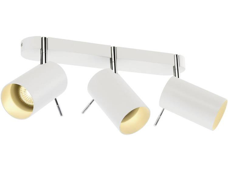 Plafondspot Halogeen, LED GU10 225 W SLV Asto tube III 147413 Wit