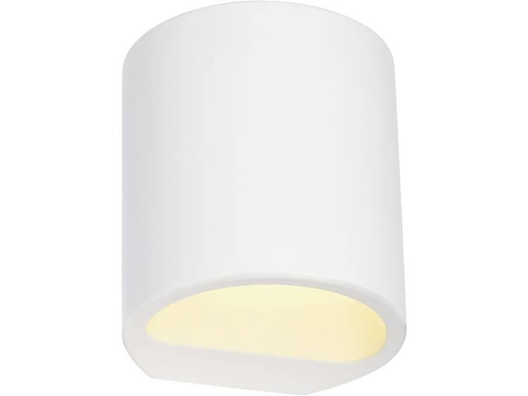 SLV Gipsen wandlamp Plastra GL 104 148016 G9 I Wit