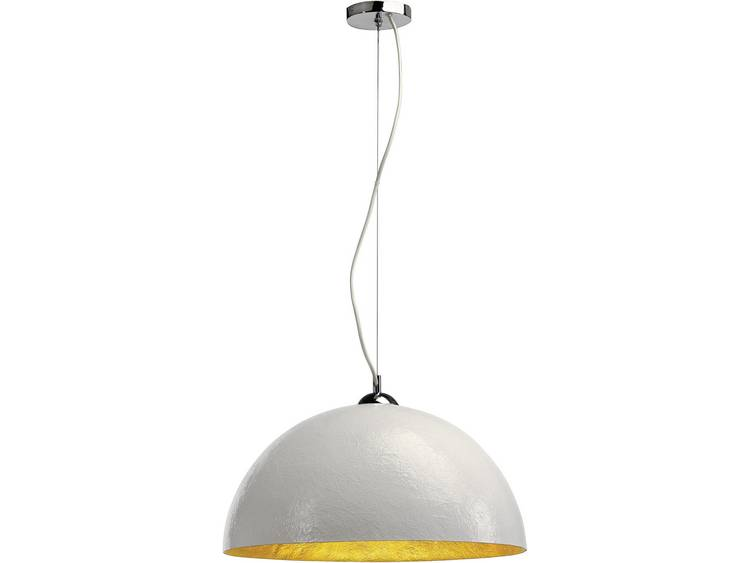 FORCHINI hanglamp groot, wit, goud