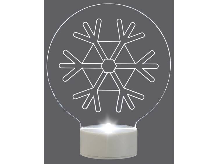 LED-kerstdecoratie Sneeuwvlok LED Polarlite LB