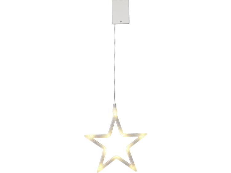 LED-kerstdecoratie Ster LED Polarlite LBA-50-0