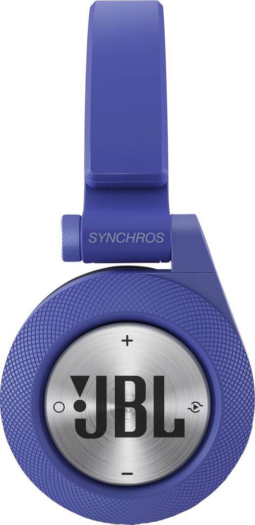 jbl koptelefoon. jbl harman e40bt bluetooth koptelefoon on ear vouwbaar, headset blauw jbl