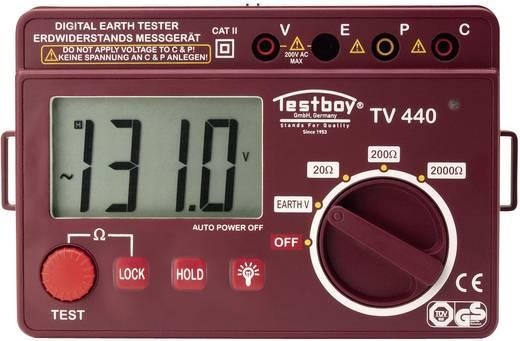 Testboy Testboy TV 440N Aardingsmeter, aardweerstandsmeter CAT II 600 V